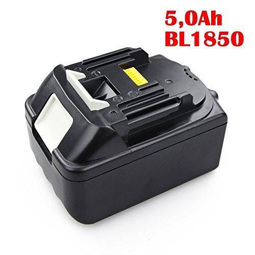 Preisvergleich Produktbild MIANBAOSHU 18V 5.0Ah 5000mAh ErsatzAkku Li-ion Werkzeugakku für Makita BL1850 BL1840 BL1830 BL1840B BL1815 BL1835 194204-5 194205-3 194309-1 18V Ersatz Batterie Li-ion Accu