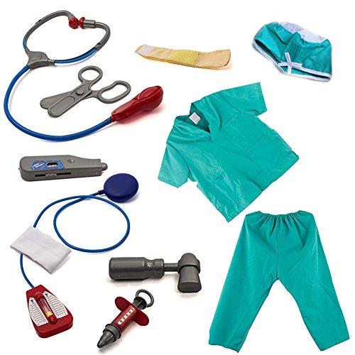 luerme Kinder verkleiden Set Doctor Rolle spielen Kostüm Pretend Play Doctor Kit