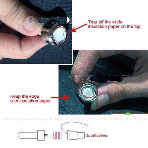 AGIA-TEX-LED-Speichen-Licht-Fahrrad-Beleuchtung-Reifen-Licht-fr-Roller-Motorrad-Sicherheit-im-Dunkeln-verschiedene-Farben