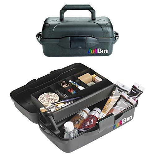 ArtBin Essentials-1 Tray Box, Black by ArtBin -