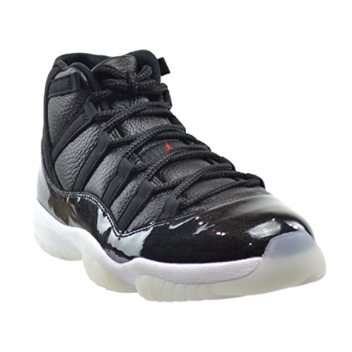 Nike Air Jordan 11 Retro, Chaussures de Sport Homme, Noir, 44 EU black/gym red-white-anthracite