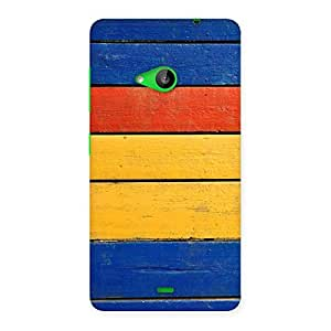 Wooden Decks Back Case Cover for Lumia 535