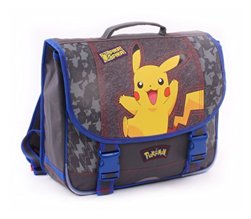*Vadobag Pokemon Pika Pika Sac à Dos Enfants, 33 cm, Gris Prix
