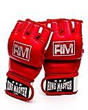 RingMasterUK Adults Synthetic Leather MMA UFC...