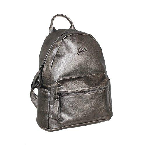 Glüxklee Rucksack Daypack mit Tablet-Fach (metallic)