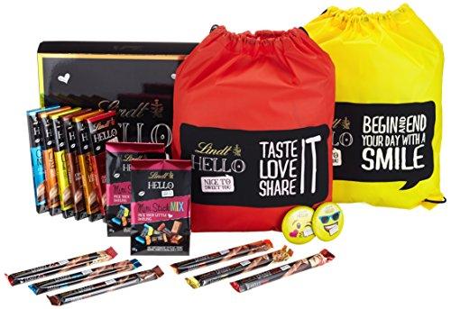 Von Haus Hello Bag (Lindt & Sprüngli Hello Geschenkbox Tasche, 1er Pack (1 x 1.134kg))