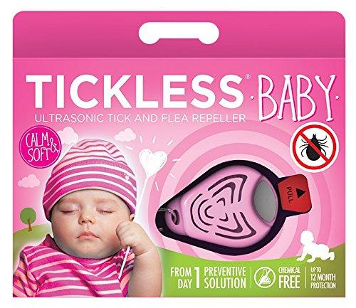 Tickless-Baby - Ultraschall Zecken und Floh Abwehr, Rosa