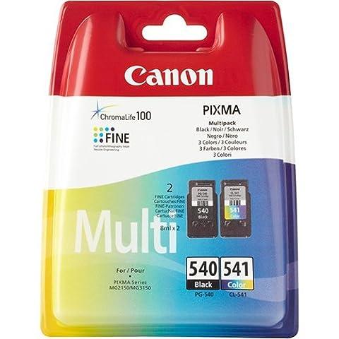 Canon Noir et couleur Cartouches d'encre d'origine pour imprimantes Canon Pixma mg3650