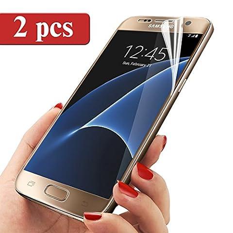 Samsung Galaxy S7 Schutzfolie, Ubegood [2-Stück] Samsung Galaxy S7 Displayschutz Screen Protector [3D Touch kompatible] für Samsung Galaxy S7 (5,1