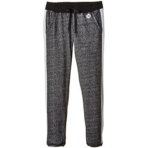 Nike Hurley Pantalón de Chándal Dri-Fit Fleece Gris M