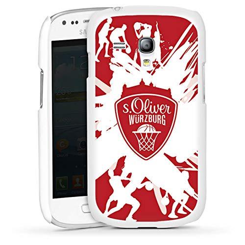 DeinDesign Hülle kompatibel mit Samsung Galaxy S3 Mini Handyhülle Case s. Oliver Würzburg Basketball Sportverein (Case Basketball Samsung Mini S3)