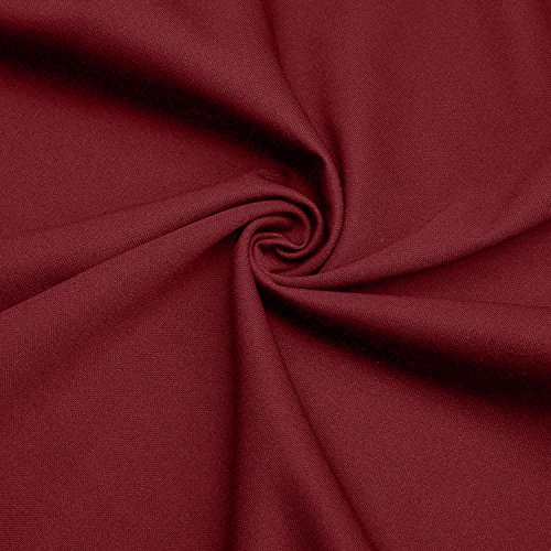 Vessos–Vestito vintage Stripes Patchwok, manica corta cocktail vestito Muster 22