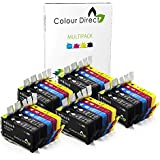 25 (5 Ensembles + 5 Noir) Colour Direct Compatible Cartouches d'encre Remplacement Pour HP 903 / HP 903XL - HP Officejet Pro 6960 All-in-One, 6970 All-in-One, 6975 All-in-One Imprimantes ( T6L99AE T6M03AE T6M07AE T6M11AE )