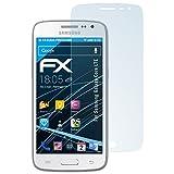 atFolix Displayschutzfolie für Samsung Galaxy Core LTE Schutzfolie - 3 x FX-Clear kristallklare Folie