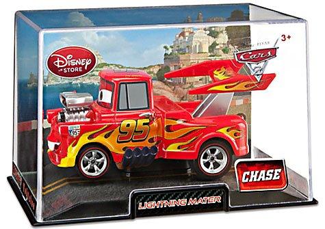 Disney Pixar Cars Exclusive 1:48 Die Cast Car Lightning Mater / Hook