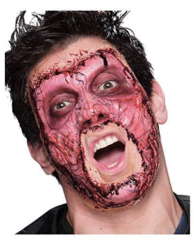 Horror-Shop Skinned Schaumlatex-Applikation als Halloween Make-up Effekt