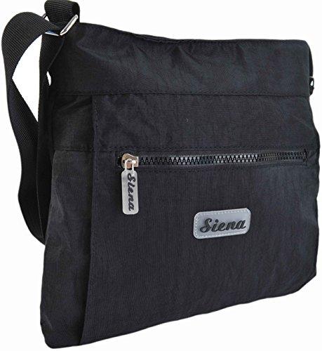 Siena, Borsa a tracolla donna Multicolore Multicolore small - Blu reale, Small nero