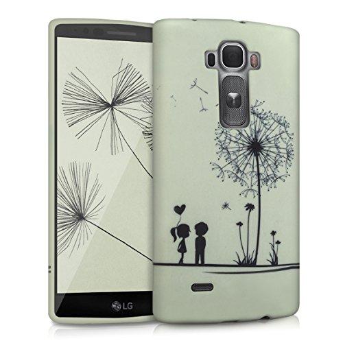 kwmobile LG G Flex 2 Hülle - Handyhülle für LG G Flex 2 - Handy Case in Schwarz Weiß