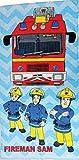 Fireman Sam / Feuerwehrmann Sam Handtuch - Offiziell lizensierter Fireman Sam Fanartikel.
