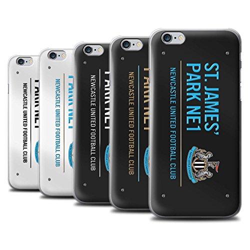 Offiziell Newcastle United FC Hülle / Case für Apple iPhone 6+/Plus 5.5 / Pack 6pcs Muster / St James Park Zeichen Kollektion Pack 6pcs