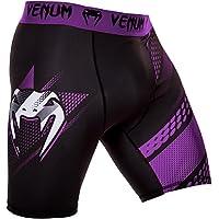 Venum Hombre Rapid Vale Tudo Pantalones Cortos, Todo el año, Hombre, Color Negro/Violeta, tamaño Extra-Small