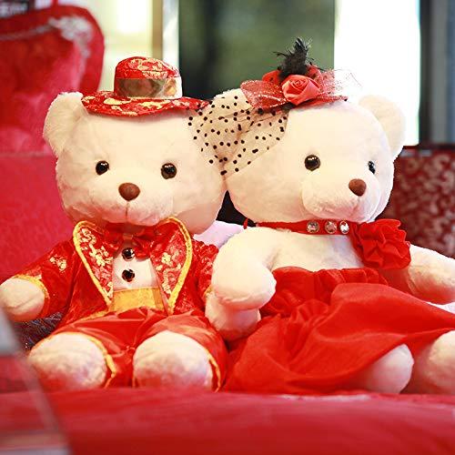 DONGER Kreative Hochzeitsgeschenk Hochzeit Bär Plüschtier Hochzeit Hochzeit Presse Puppe EIN Paar...