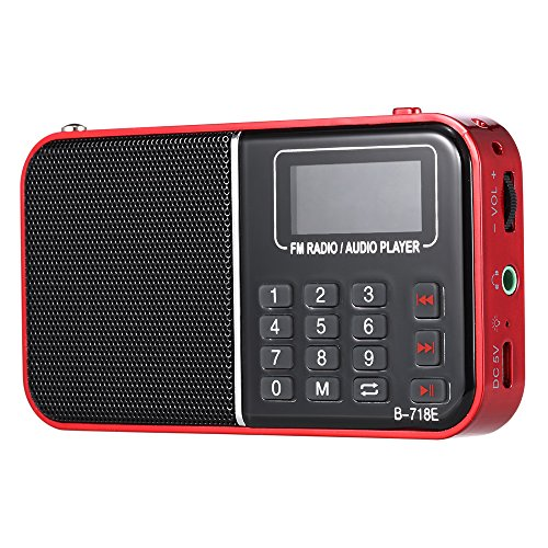 Docooler BANNIXING B-718E FM Radio Lautsprecher Digital Audio Player LED Display Stereo Musik Player Unterstützung TF Karte Wiedergabe Kopfhörer Ausgang