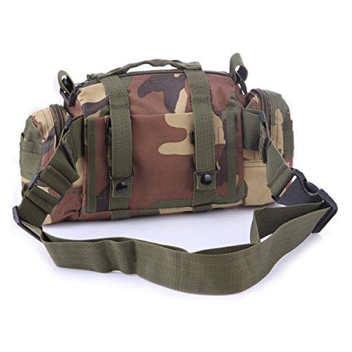 3P Magie Taschen Der Tarnung Multifunktions-Freizeitsport Rucksack Schulterkamera 10