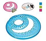 Georplast Vortix Frisbee - Gioco flessibile da riporto per cane e padrone