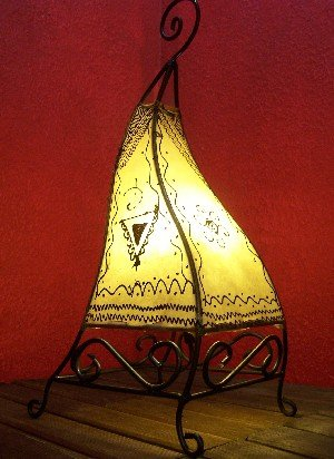 Orient stehlampe Marrakesch natur 50cm
