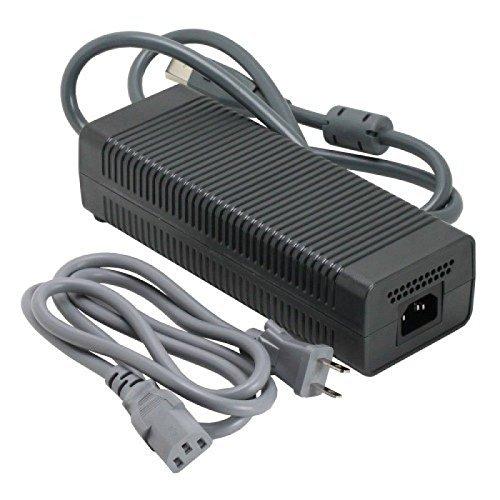 Microsoft OEM Netzteil für Xbox 360Complete Kit Adapter 203W mit AC Ladegerät Kabel für Xbox360