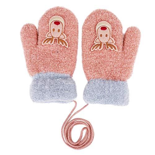 Baby Fäustlinge Cartoon Handschuhe Fingerlos Fausthandschuhe Kleinkind Warm -