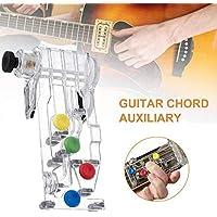Guitar Chord Sistema De Aprendizaje De Acordes De Guitarra Auxiliar Herramienta De Ayuda Didáctica Útil Efectiva Dispositivo Para Todas Las Edades