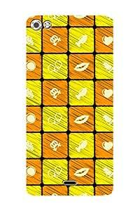 ZAPCASE PRINTED BACK COVER FOR MICROMAX SILVER 5 Multicolor