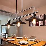 Retro Industrielle Wind Kronleuchter Restaurant Lampe Billardtisch Bar Kreative 3 kronleuchter
