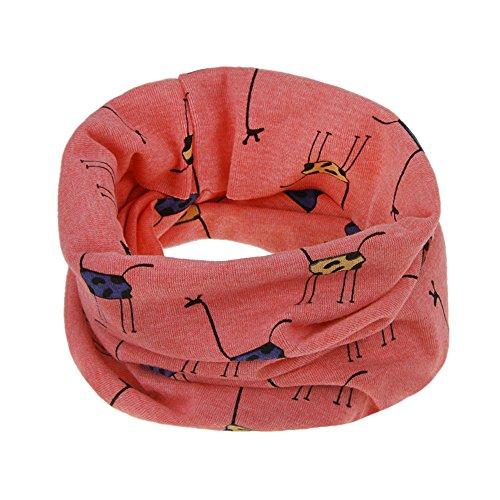 YJZQ Kinder Loop Schal Herbst Winter Rundschal Baumwolle O-Ring Schal Halstücher weicher Schlauchschal Kinderschal Weihnachtsgeschenk für Jungen und Mädchen(3 Monate-12 Jahre)
