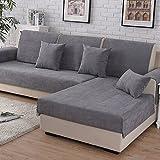 Fodera per divano copertina di cotone per divano componibile,Vintage finitura resistente all'usura resistente alle macchie multi-dimensione divano cover mobili per soggiorno-A 70x120cm(28x47inch)