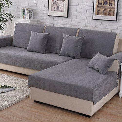 Fodera per divano copertina di cotone per divano componibile,vintage finitura resistente all'usura resistente alle macchie multi-dimensione divano cover mobili per soggiorno-a 70x150cm(28x59inch)