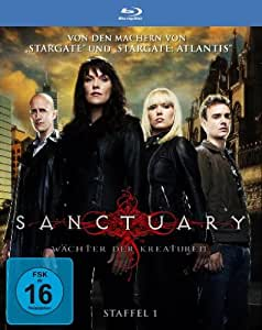 Sanctuary - Wächter der Kreaturen - Season 1 [Blu-ray] [Import allemand]
