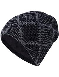iBaste Cappello Lana Invernale Unisex Berretto Uomo per Autunno e Inverno  Cappelli Lavorati a Maglia e61f0ee257a1
