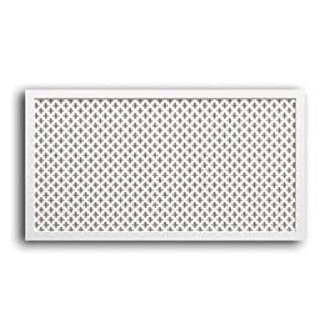 "Heizkörperverkleidung en bois blanc 120 x 65 cm-dekoreinlage ""paRIS"""
