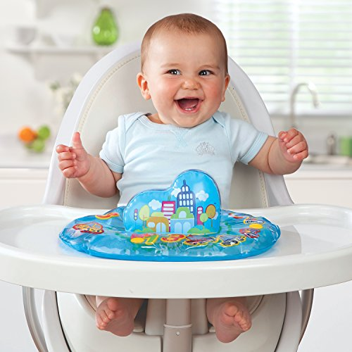 Munchkin Excite and Delight Play N' Pat Water Mat, City
