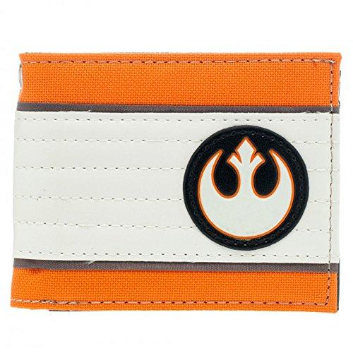 Disney Star Wars Rebellen-Allianz Logo Orange Portemonnaie Geldbörse