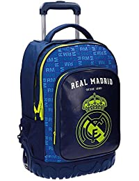 Real Madrid 5632952 Champions Equipaje Infantil, 50 cm, 33.6 Litros, Multicolor