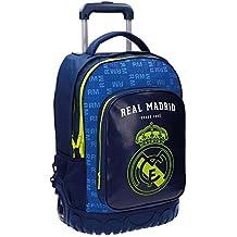 Real Madrid 5632952 Champions Equipaje Infantil, 50 cm, 33.6 Litros, Multicolor