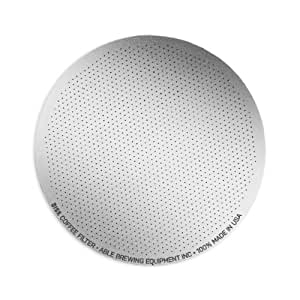 Able Brewing DISK Coffee Filter for AeroPress Coffee & Espresso Maker - stainless steel reusable- made in USA
