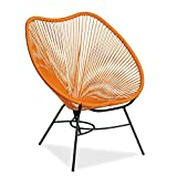 LO+DEMODA Mexico Shell - Silla, color naranja