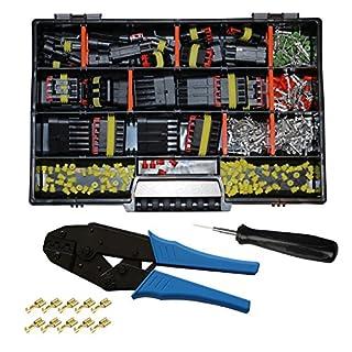 Cable Solution AMP Superseal Starter Set Stecker 1-6-pol m. Ausstecher und Crimpzange