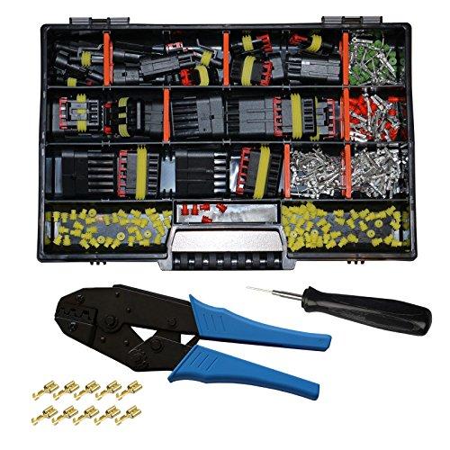 Preisvergleich Produktbild AMP Superseal Starter Set Stecker 1-6-pol m. Ausstecher und Crimpzange