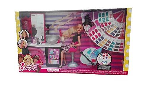 Set de salón de peluquería de Barbie